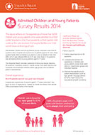 Snapshot Report: Admitted Children and Young Patients Survey Results 2014