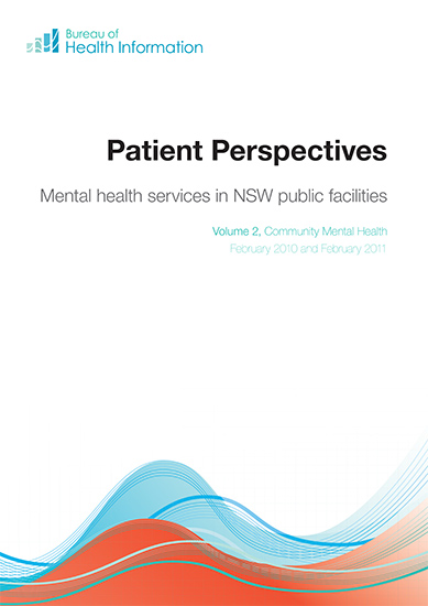 Mental health services in NSW public facilities Volume 2 - Community Mental Care cover image