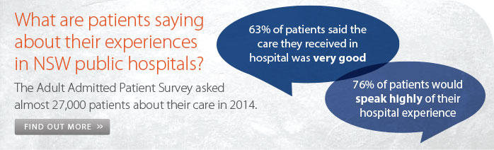 Adult Admitted Patient Survey Results 2014