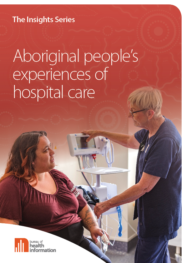 Aboriginal people's experiences of hospital care cover image