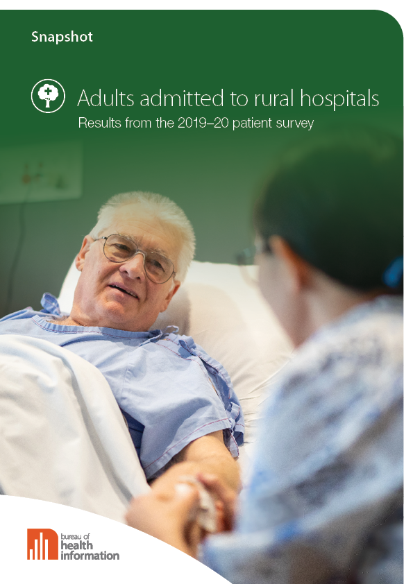 Rural Hospital Adult Admitted Patient Survey 2019–20