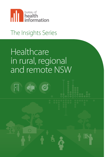 Healthcare in rural, regional and remote NSW cover image